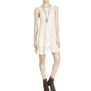 Free People Miles of Lace Sleeveless Dress